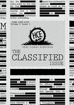 The Tomorrow Issue Cover